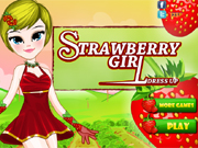 Strawberry Girl Dress Up